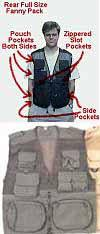 Stagehands Tool Vest has lots of pockets for keeping tools safely by your side