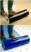 Plastic Film Floor Protection