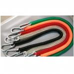Lanyard safely attaches tools to your belt