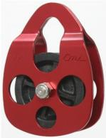 RP101 CMI Split-Side Pulley opens to accept rope at any point not just the ends